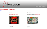 Dan Caven original website screenshot